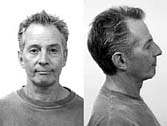 [file photo of Robert Durst, front and profile]