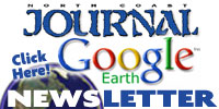 Journal Google Earth Newsletter button